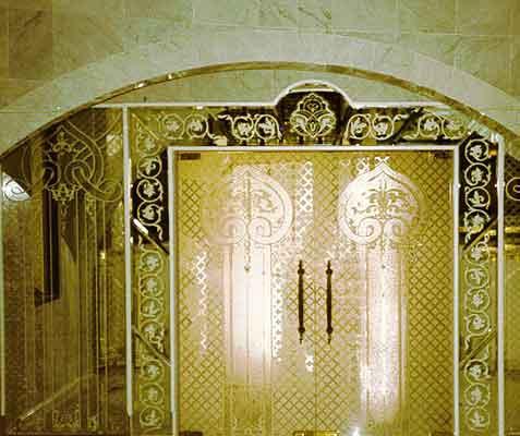 Glass Door Panels