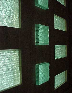 Stacked Glass Inserts