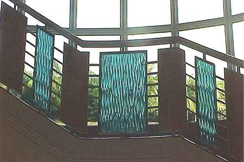Railing Glass Panels & Column