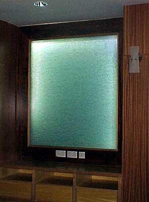 Fabric Laminated Glass Panel