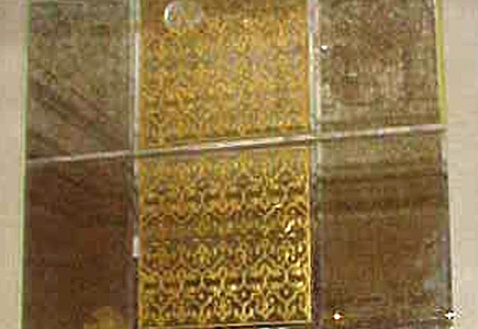 Etched Glass Wall